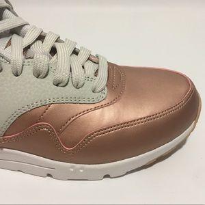 ac8bfd53834a Nike Shoes - Nike Air Max 1 Ultra SE Lt Bone Rose Gold Bronze